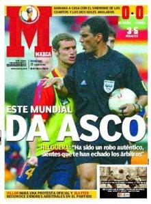 Portada de Marca. Mundial de Futbol