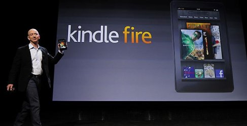 Presentación Kindle Fire Amazon